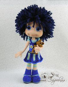 Ежевичка по описанию Ани Садовской - Мои игрушки - Галерея - Форум почитателей амигуруми (вязаной игрушки)