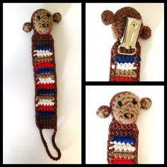 Monkey pacifier cord!