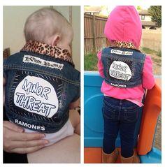 Kids punk jackets