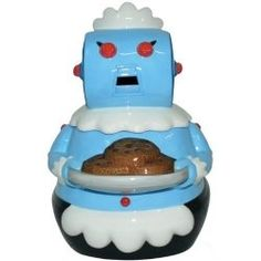 The Jetsons Rosie Robot Maid Cookie Jar. Who remembers the Jetsons? Kinds Of Cookies, Cute Cookies, Cookie Jars For Sale, Pop Art Poster, Westland Giftware, The Jetsons, Vintage Cookies, Cooking Classes, Cookie Dough