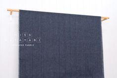 Japanese Fabric yarn dyed Shijira cotton stripes by MissMatatabi