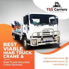 Truck Mounted Crane, Transportation Services, Lift Heavy, Cool Trucks, Peace Of Mind, Leadership, Australia, Lightning, Objects