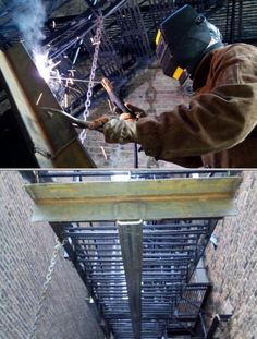 I can do structural welding, fire escape repairs, staircases, fences, and all heavy duty welding repairs. I provide a guaranteed reliable work.