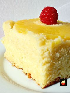 Easy Pineapple Upside Down Cake. This is a very easy, made from scratch recipe. The cake is so soft and moist, bursting with pineapple flavor. Delicious served simply on it's own or with some ice cream or whipped cream. Easy, fuss free recipe using regular ingredients and so good!