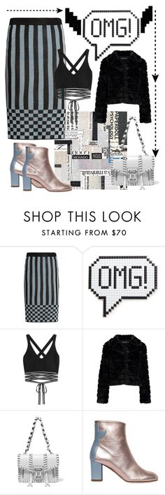 """""""OMG!!!!"""" by mdfletch ❤ liked on Polyvore featuring House of Holland, Anya Hindmarch, Puma, Boohoo, Proenza Schouler, Camilla Elphick and omg"""