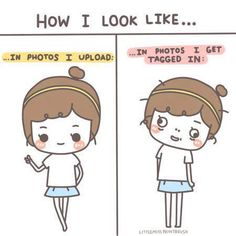 How I look like...