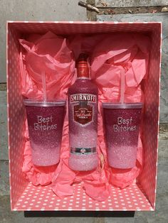 *Sealed and hand washable *Comes Gift Boxes *All Items are covered with our replacement guarantee 18th Birthday Present Ideas, 21st Birthday Gifts For Best Friends, 21st Bday Ideas, 21st Birthday Presents, 21st Gifts, Friend Birthday Gifts, Best Friend Gifts, Gifts For 21st Birthday, 21st Birthday Basket