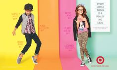 target school campaign - graphics and colors