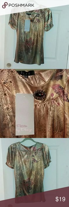 Silk top New with tags size small silk top Nordstrom Tops