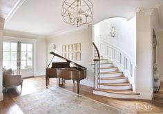 Country Cream Entrance Hall Piano