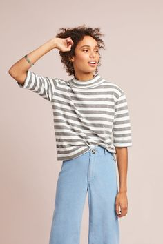Shop the Striped Terry Turtleneck and more Anthropologie at Anthropologie today. Read customer reviews, discover product details and more.