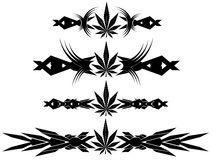 set-marijuana-nice-leaf-tattoos-image-representing-different-black-color-62904281.jpg (212×160)
