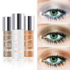 Glitter Eyeshadow Highlighter Silkworm Pen