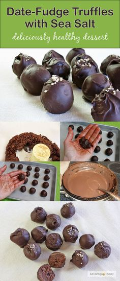 Date sweetened, dark chocolate truffle recipe to wow your friends and family. They'll be amazed a dessert so good can be good for you too!