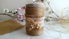 DIY - JAR DECORATIONS ( KAVANOZ SÜSLEME )