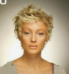 New images – Hairstyles 2015 Curly Pixie Haircuts, Short Blonde Haircuts, Thin Hair Haircuts, Work Hairstyles, Cute Hairstyles For Short Hair, Girl Haircuts, Grey Curly Hair, Short Curly Hair, Short Hair Cuts
