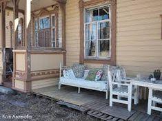 rautasohva terassilla - Google-haku Porch Swing, Outdoor Furniture, Outdoor Decor, Google, Home Decor, Decoration Home, Room Decor, Porch Swings, Home Interior Design