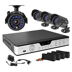 Zmodo PKD-DK4216-500GB H.264 Internet & 3G Phone Accessible 4-Channel DVR with 4 Night Vision Cameras and 500 GB HD - https://plus.google.com/104120165196947616074/posts/KkY17wTwKRm