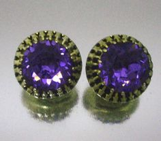 Purple People Eaters......Vintage Purple Jewelry......ECOCHIC JEWELRY TEAM by MartiniMermaid on Etsy