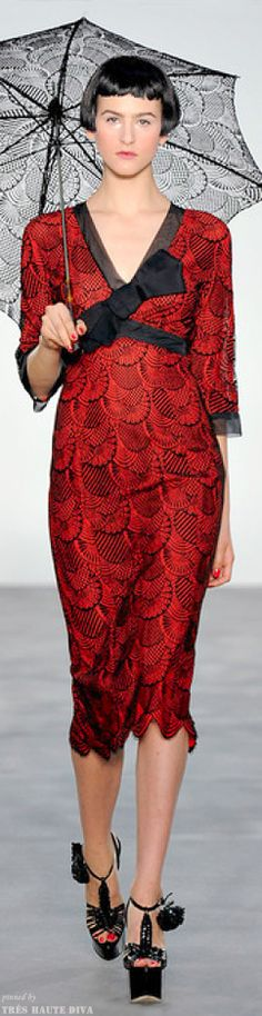 #London FW L'Wren Scott Sring 2014 RTW http://www.style.com/fashionshows/