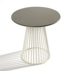 Bistrot Table Garbo Gray, $100, now featured on Fab.