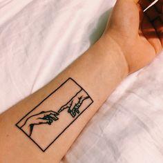 Image about love in tattoos by babygirl on We Heart It Poke Tattoo, Diy Tattoo, Emoji Tattoo, Card Tattoo, Bild Tattoos, Body Art Tattoos, Tatoos, Maori Tattoos, Michelangelo Tattoo