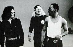 ♥ Michael Jackson ♥ - I love Eddie Murphy's expression here lol
