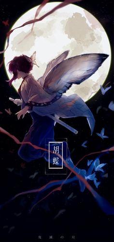 Kochou Shinobu - Kimetsu no Yaiba - Image - Zerochan Anime Image Board Demon Slayer, Slayer Anime, Kawaii Anime Girl, Anime Art Girl, Anime Demon, Manga Anime, Anime Scenery, Animes Wallpapers, Beautiful Anime Girl