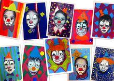 les petites têtes de l'art: Faites les clowns !
