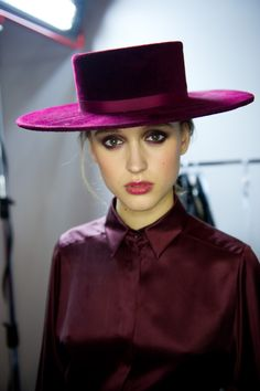 The Lady Wore a Velvet Hat
