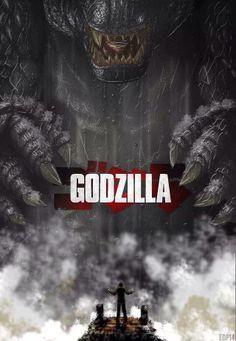 Awesome Godzilla 2014 Fan Art Posters