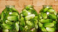 Pickles, Cucumber, Backyard, Vegetables, Recipes, Food, Mai, Homestead, Drink