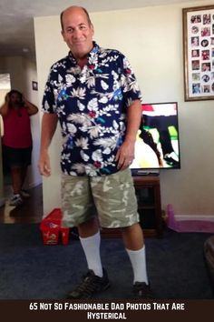 65 Not So Fashionable Dad Photos That Are Hysterical #fashion #dad #photos #hysterical Funny Today, Trending Today, Magic Tricks, Food Design, Amazing Nature, Photo S, Cute Dogs, Dads, Men Casual