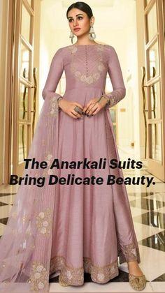 Anarkali Churidar, Indian Salwar Kameez, Churidar Suits, Anarkali Dress, Anarkali Suits, Costumes Anarkali, Angrakha Style, Fancy Dress Design, Indian Fashion