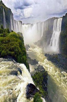 Iguazú Cataratas.