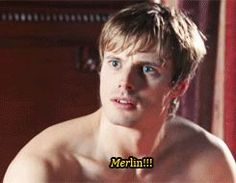 """All the fandoms, explained in one GIF each. So perfect. Click it. The merlin Fandom one is the best! lol I'm watching this episode now! I'm on season 2!!! NO SPOILERS!!!! Don't even say """"It'll end in tears"""" or """"You'll love it"""" or something....<<<Yep."""