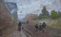 Pio Joris (Roma, 1843-1921) La via Flaminia