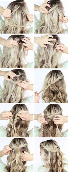 Prueba mañana mismo éstos peinados paso a paso pensados en tu cabello corto.
