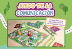 El juego de la comunicación es ideal para trabajar de manera lúdica la expresión oral, la mímica, los gestos... de los niños con trastornos del lenguaje.