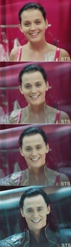 Katy Perry is Loki - MEME, LOL and Funny Pictures. Get the BEST and Funniest MEME, Funny Pictures and LOL from the Funny Pictures Blog.