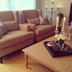 Deilig stue til @linez_77 med Henley salongbord i nordamerikansk eik  #neptunehomenorge #interiør #interior #welovebeautifulhomes #høst2015