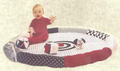 Playmat for home or away by CreativeGiftBoutique on Etsy, $40.00