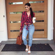 aa0468a9fd Mejores 261 imágenes de fashion blusas en Pinterest