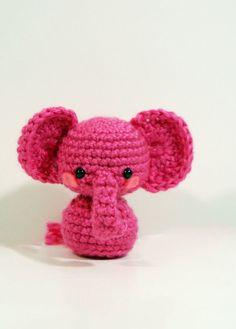 Crochet Melon the Elephant Amigurumi Elephant Toy Elephant