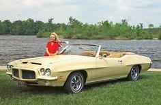 1971 Pontiac GTO Convertible http://www.musclecardefinition.com/