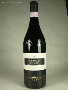 2000 Elvio Cogno Barolo Ravera, Barolo DOCG, Italy -- <3 Barolo and this one is excellent!