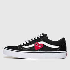 Vans Old Skool Custom CDG 'Heart Patch' EUR 34.5