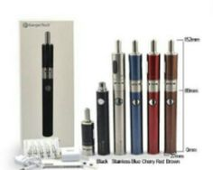 Stater kit, Kanger Emow Starter Kit includes 1300mAh battery, 1.7ml clearomizer adapter(EU/US), USB cord, English manual, plus 5 coil units