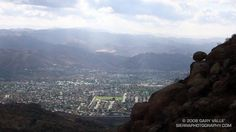 The view from Rocky Peak, Simi Valley, California