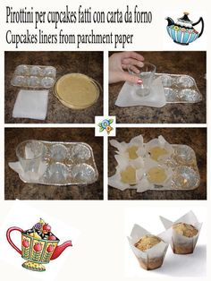 pirottini di carta da forno